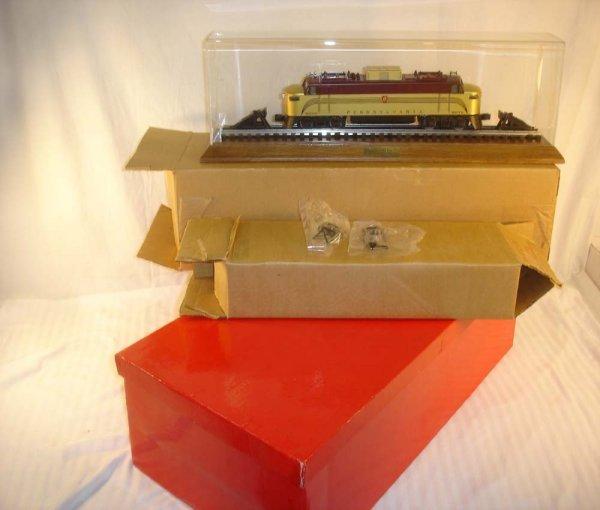 320: ABT: Mint Lionel #8272 Gold Little Joe & Case/OB