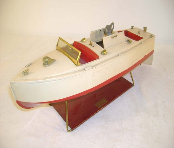 698: ABT: Nice Lionel #43 Pleasure Boat/Brass Trim