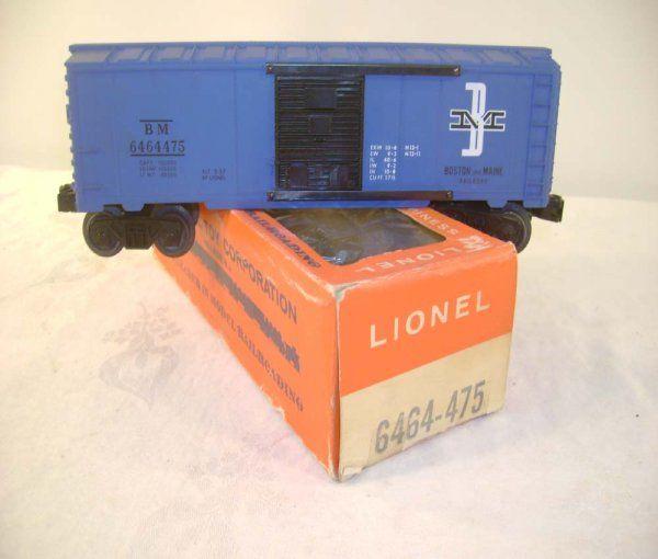 ABT: Mint Lionel #6464-475 Purple Ptd B&M / 66c OB