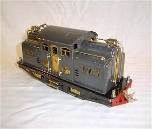 ABT2 Lionel Std #318 Dark Gray Electric Engine