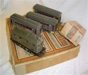 ABT15 Rare Lionel #97 Gray 251 Passenger Set/OBs