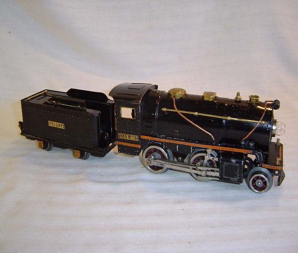 16: ABT16 Rare Lionel-Ives #257 Steam Engine & Tndr