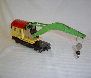 ABT24 Nice Lionel #2810 Nickle Oper.Crane Car