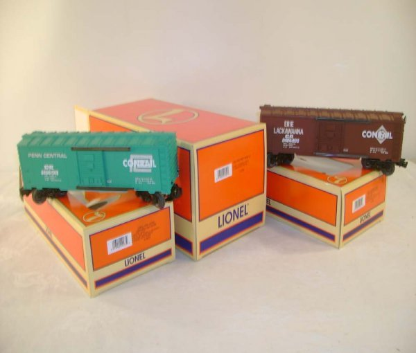 6: ABT: Lionel #6464 Overstamped Conrail Era Box Cars #
