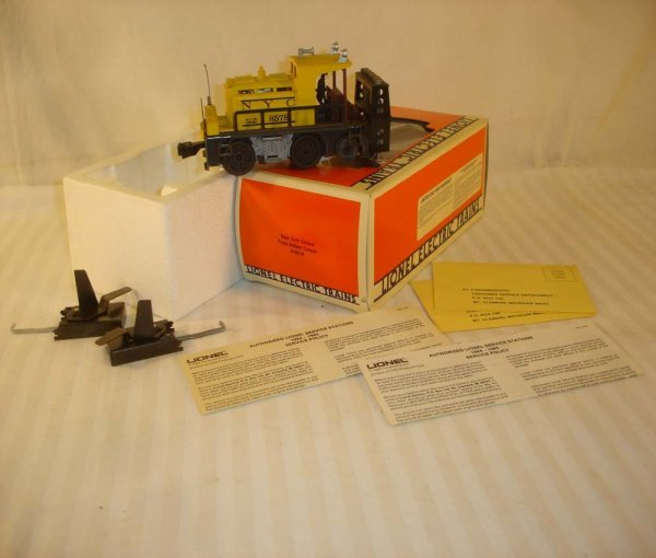 14: ABT: Great Lionel #8578 NYC Ballast Tamper/OB