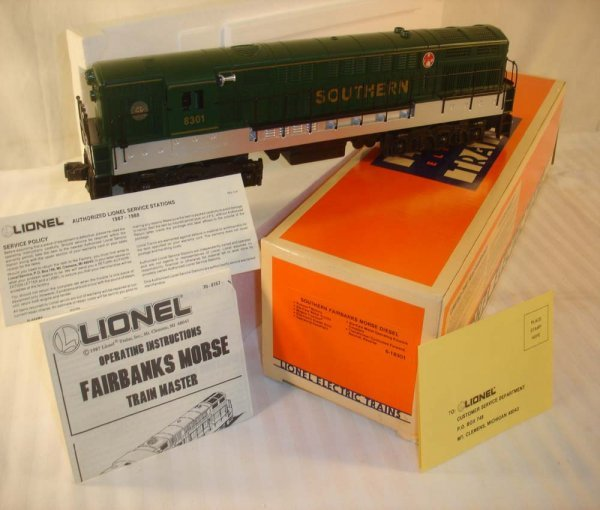 21: ABT: Great Lionel #18301 Southern FM Diesel/OB