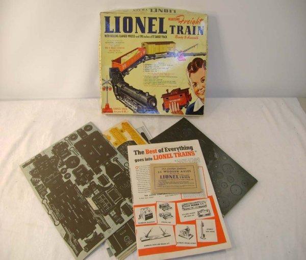 442: ABT: Mint Lionel #50 World War II Paper Train/ OB+