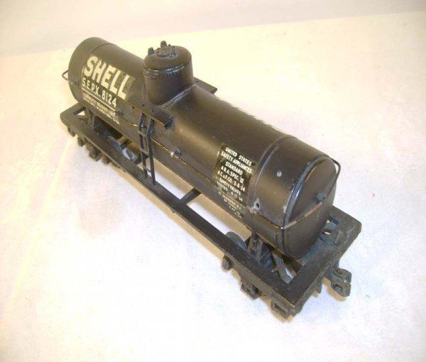 447: ABT: Lionel #2955 Black Shell Semi-Scale Tank Car