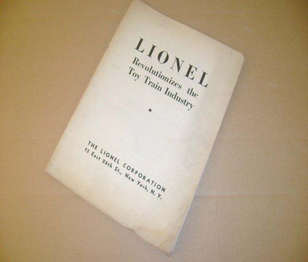 460: ABT: Lionel 1933 Advance Catalog & Dealer Promotio