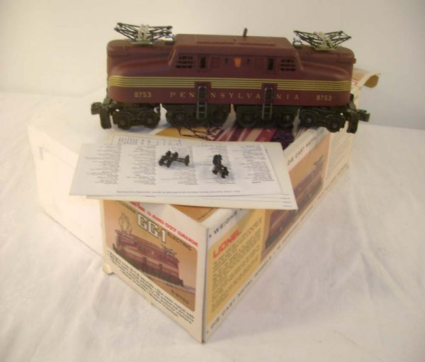 1000: ABT: Mint Lionel #8753 Tuscan GG-1 Electric/OB