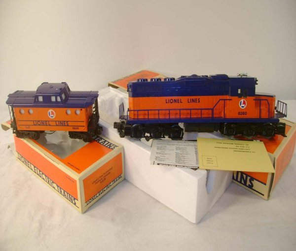 1003: ABT: Lionel #8380 SD-28 Flat Top & #9239 N5C Cabo