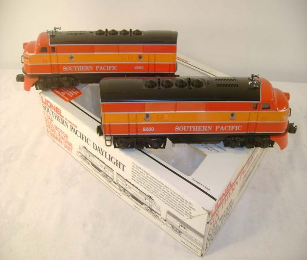 1010: ABT: Mint Lionel #8260 SP Daylight F-3 AAs/OB