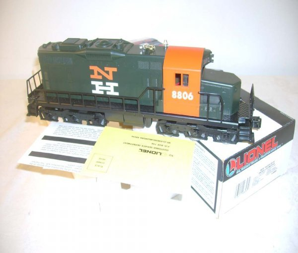 1014: ABT: Lionel #18806 New Haven SD-18 Diesel/OB