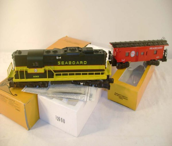 1018: ABT: Lionel #8063 Seaboard SD-9 & #9372 Caboose/