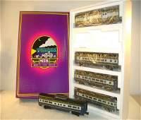 1168 ABT MTH MT6012 BO 5 Pack of Passenger Cars O