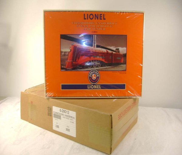1275: ABT: Sealed Lionel #28012 Red 777 Commodore /OB