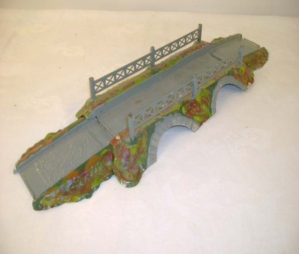 3: ABT: Scarce Ives 3 Piece O Gauge Bridge Set