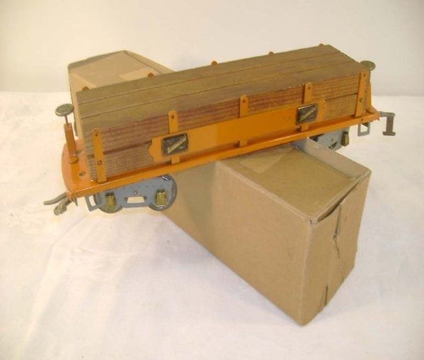 4: ABT: AF #4022 Machine Car w/Wood Load/brick OB
