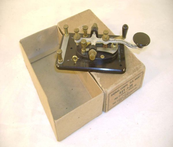 7: ABT: Great Lionel #J-38 Telegraph Key/Nice OB
