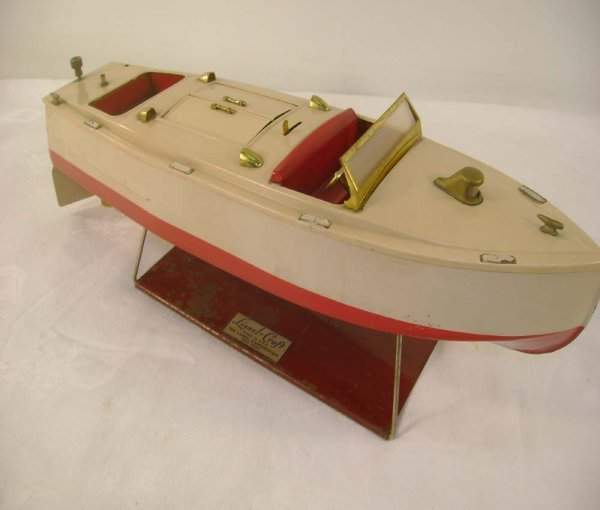 10: ABT: Nice Lionel #43 Pleasure Boat/Brass Trim