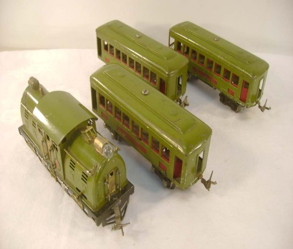 16: ABT: Nice Lionel #254 Olive Green Electric w/#610/6