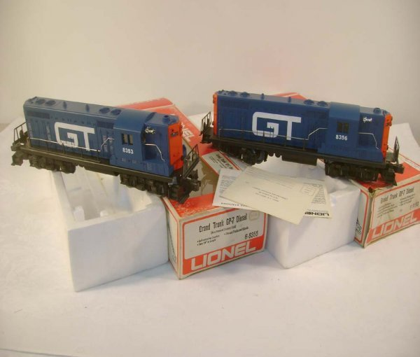 319: ABT: Lionel #8353/#8356 Grand Trunk GP-7s/OBs