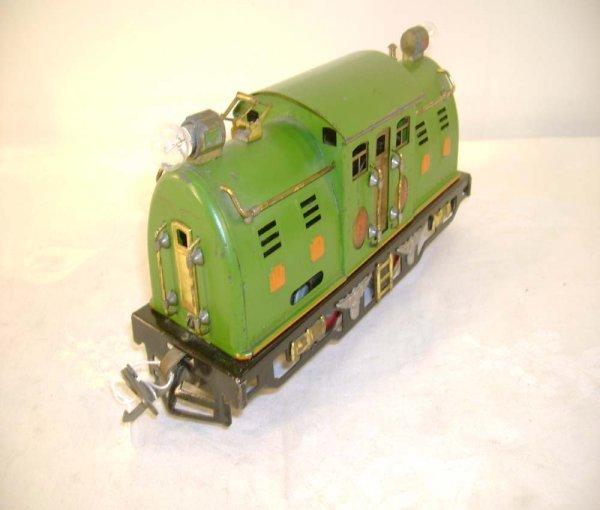 695: ABT: Lionel #254E Pea Green w/Orange Hatches