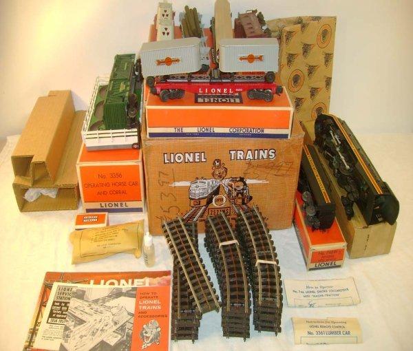 700: ABT: Mint Lionel #2521WS N&W Ft Set/Brick OBs