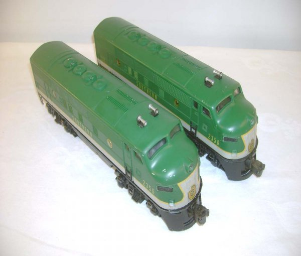705: ABT: Nice Lionel #2356 Southern F-3 AA Diesels