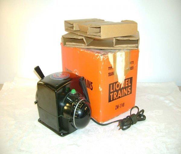 706: ABT: Lionel #ZW 275 Watts Transformer/Orange OB+