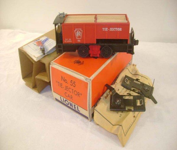 707: ABT: Lionel #55 Operating Tie-Jector Unit/Brick OB