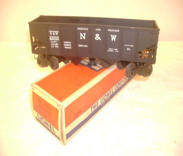 708: ABT: Lionel #3456 Operating N&W Coal Hopper/ OB