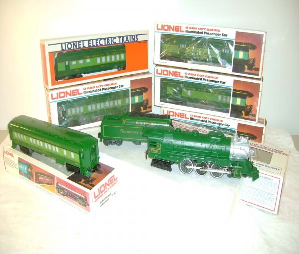1: ABT: Lionel #8702 7 pc Southern Crescent Set/Obs