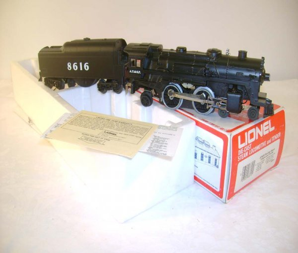 2: ABT: Mint Lionel #8616 SF Steam & Tender/OB