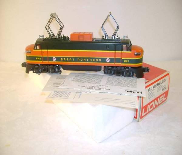 17: ABT: Mint Lionel #8762 Great Northern Electric/OB