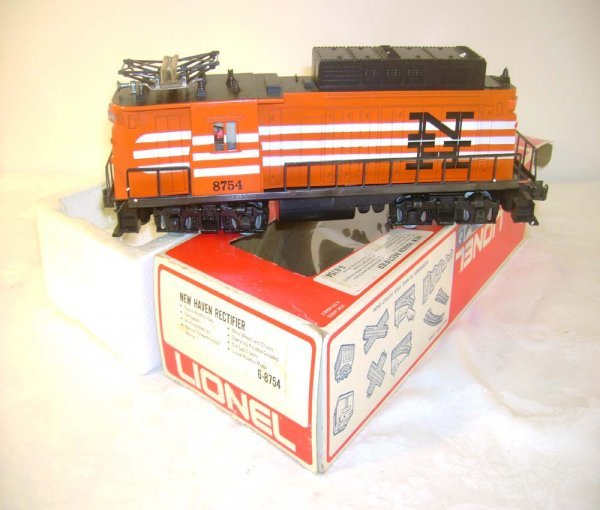 23: ABT: Great Lionel #8754 New Haven Rectifier/OB