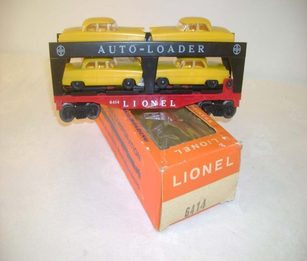 404: ABT: Lionel #6414 w/Dark Yellow Autos/66c Box