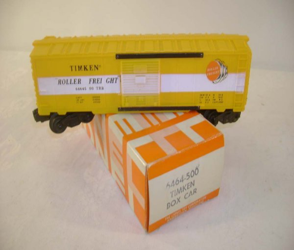 412: ABT: Lionel #6464-500 Timken Box Car/ 69 OB