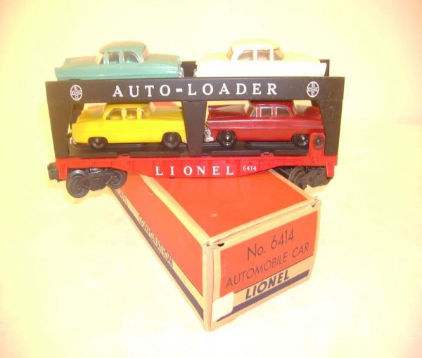 413: ABT: Nice Lionel #6414 Auto Loader/Great 55- OB