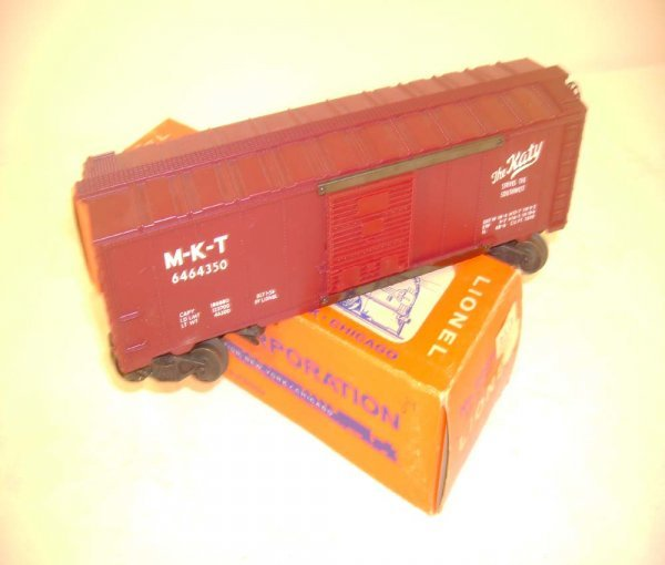 414: ABT: Lionel #6464-350 MKT Box Car/Madison OS Box