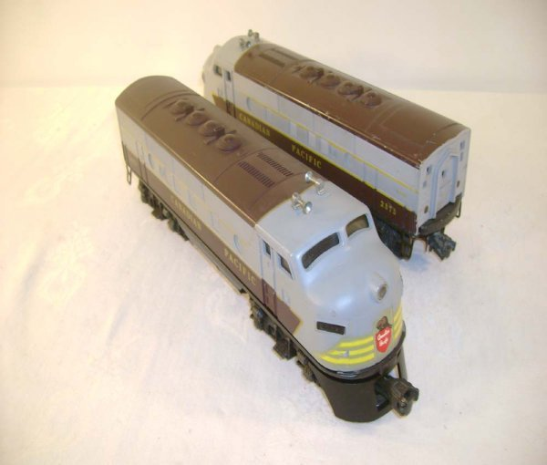 415: ABT: Lionel #2373 Canadian Pacific F-3 AA Diesels