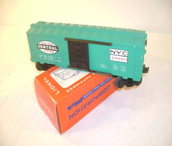 416: ABT: Lionel #6464-900 NYC w/Black Doors and #s Var