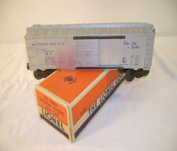 420: ABT: Lionel #6464-1 WP w/Ribbed Roof/Brick OB