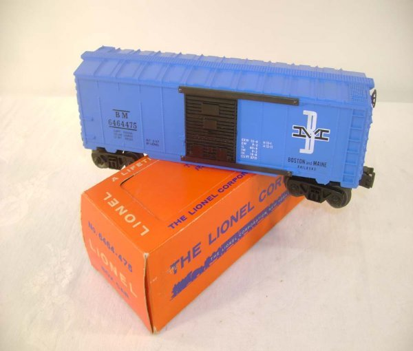 439: ABT: Mint Lionel #6464-475 B&M Type III/ Perf Box