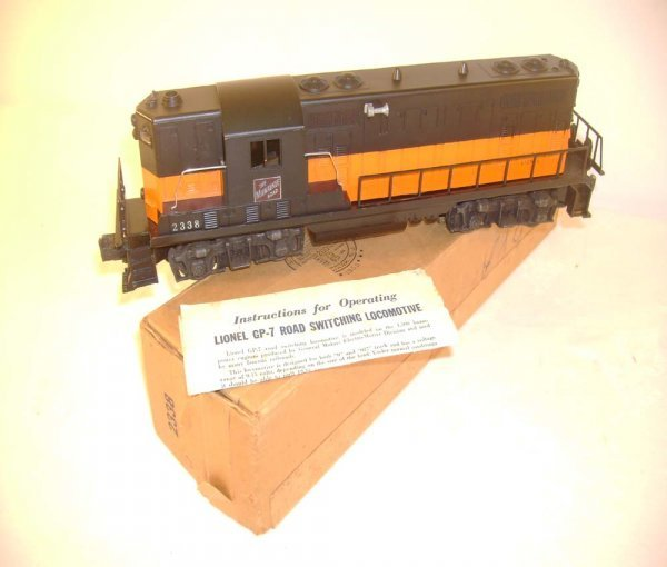 492: ABT: Lionel #2338 Milwaukee Road GP Diesel/ OB+