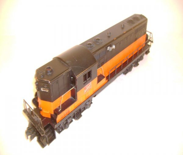 535: ABT: Lionel #2338X Solid-Band Milwaukee Road GP