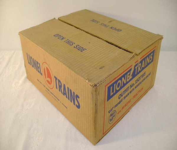 504: ABT: Lionel #1507WS 1953 Freight Set Box