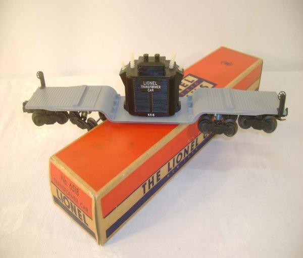 508: ABT: Mint Lionel #6518 16 Wheel Trans Car/Brick OB
