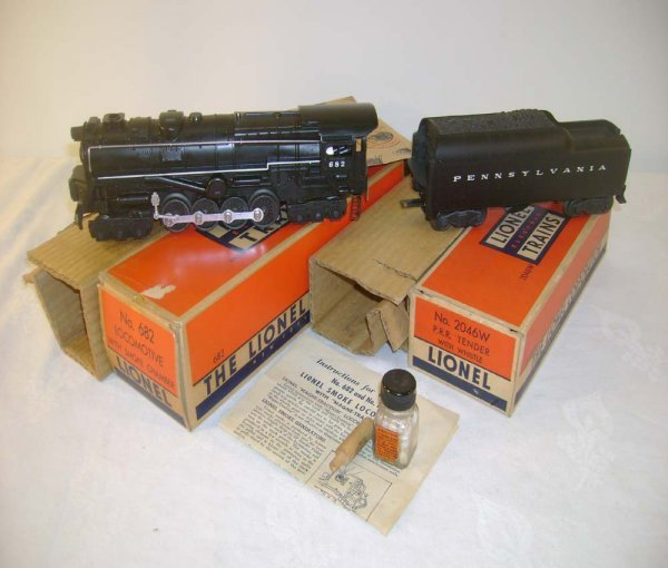515: ABT: Lionel #682 Steam Turbine & Tender/Brick OBs+