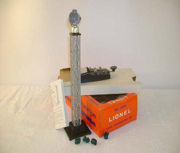 517: ABT: Mintish Lionel #299 Code Transmitter Set/OB+